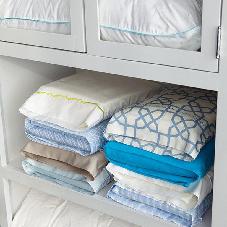 Une méthode pour ranger son linge de lit