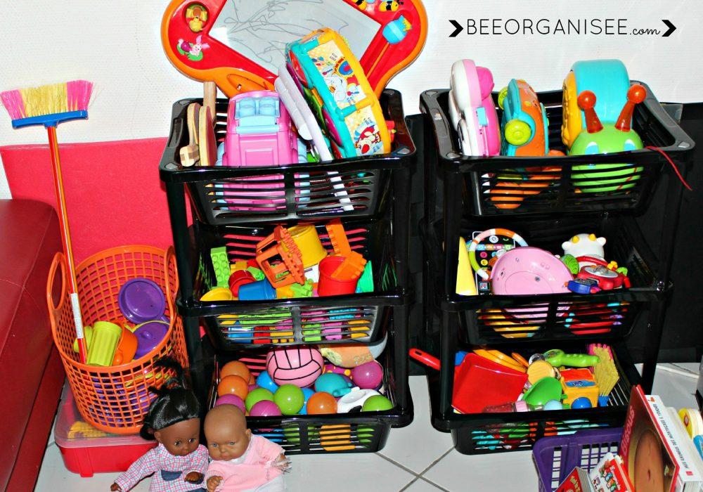 organiser les jouets de bébé
