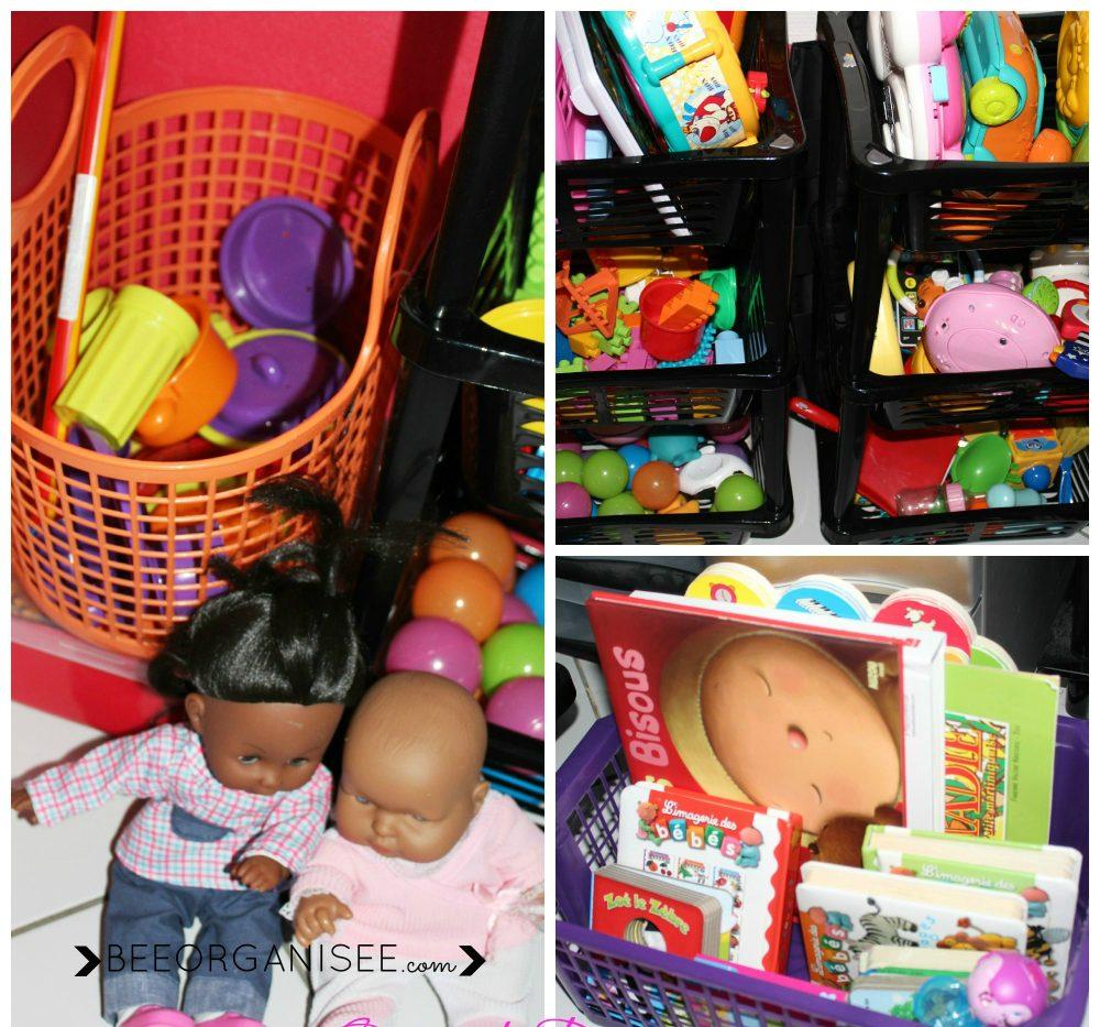 ranger les jouets de bébé
