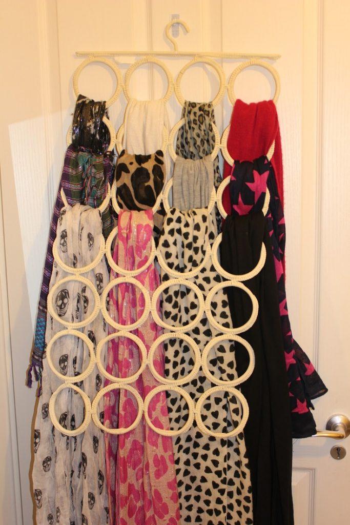 organiser les écharpes - portant Ikea