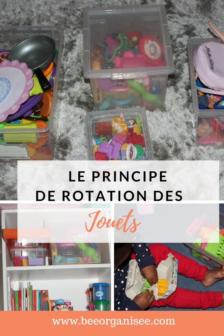 le principe de rotation pour gérer les jouets de vos enfants