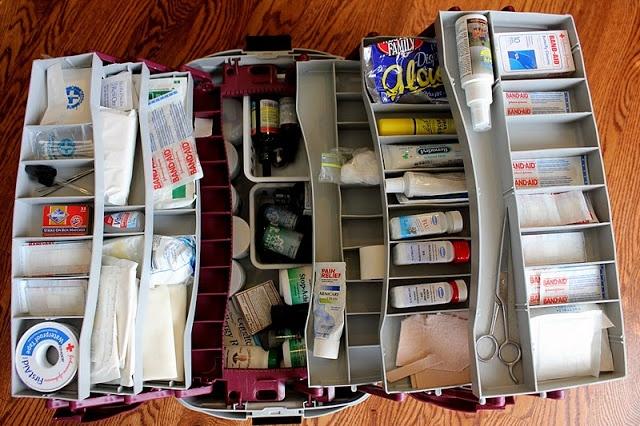 ranger-médicaments