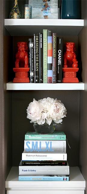 decoration bibliothèque