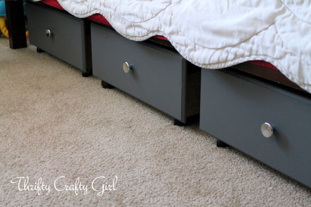 tiroirs sous lit