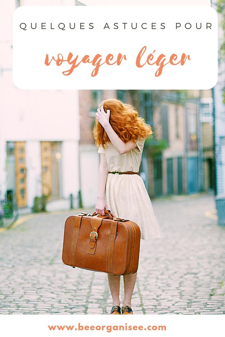 une valise plus légère c'est moins de temps de préparation, moins de poids, des économies et moins de stress!Aujourd'hui je vous propose quelques astuces pour voyager léger