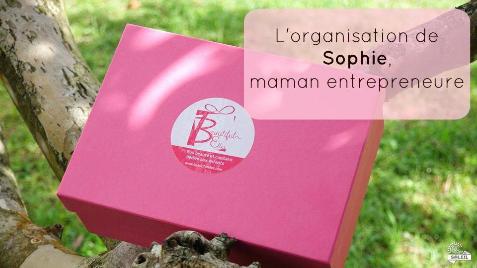 Je vous retrouve cette semaine avec un nouveau témoignage, celui de Sophie, mompreneure ( maman entrepreneure) et fondatrice de la première box beauté mensuelle pour enfant Beautiful Elles.