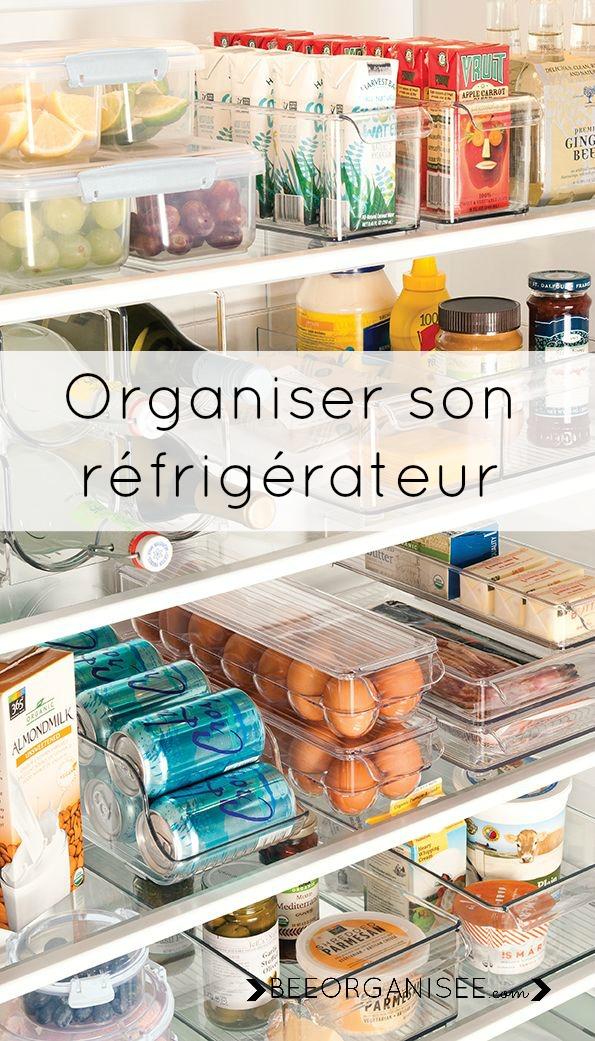 des astuces pour ranger son réfrigérateur et le garder propre