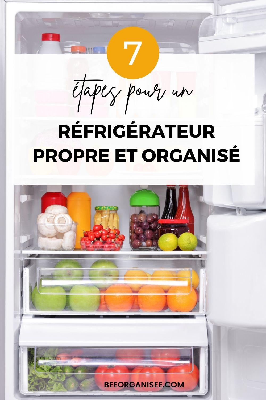 Le réfrigérateur est l'un des appareils des plus utilisés dans la maison. C'est pour cela que l'organiser vous fera gagner du temps, réduira le gâchis alimentaire et vous permettra de prendre soin de votre santé en faisant les bons choix. Si vous souhaitez en finir avec les restes oubliés et la nourriture gâchée au fond du frigo, ou tout simplement avoir un frigo agréable à l'œil, voici des conseils et idées pour organiser son réfrigérateur en quelques étapes.