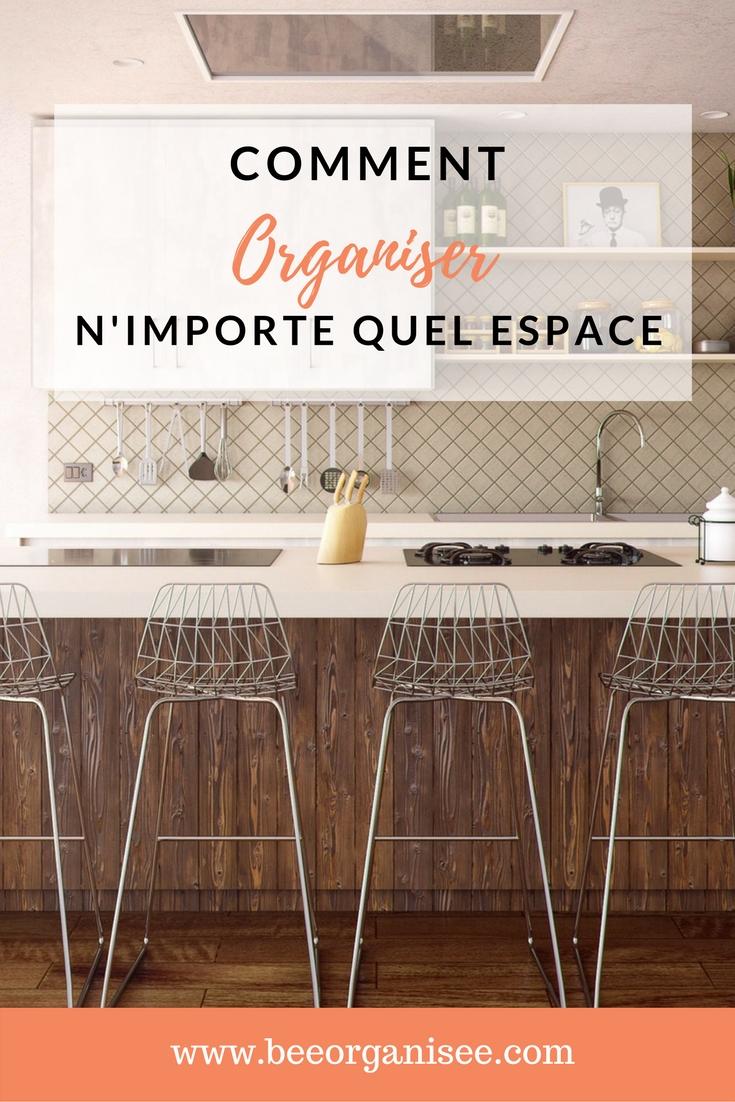 Je vous propose de testerces6étapes pour vous aider à organiser n'importe quel espace chez vous.