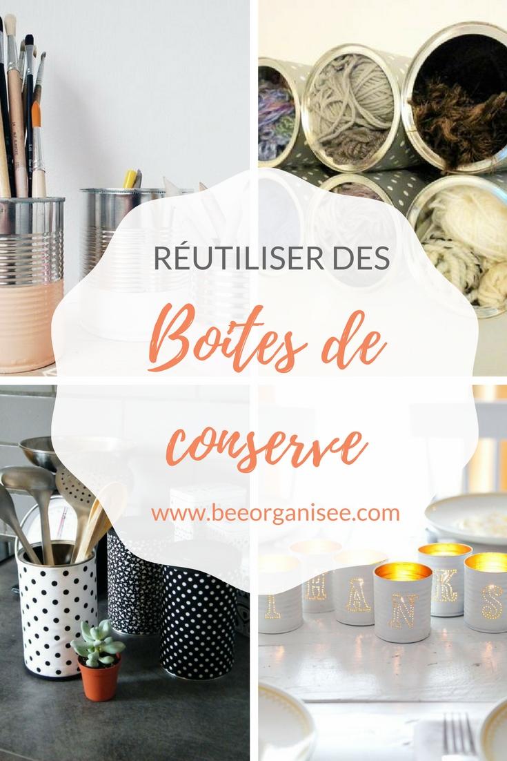 10 idées pour réutiliser des boites de conserve