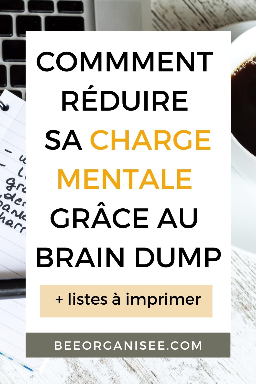 En tant que parent, nous avons parfois l'impression que notre cerveau ne se repose jamais. j'ai une méthode très efficace pour reposer un peu mon cerveau : le brain dump.