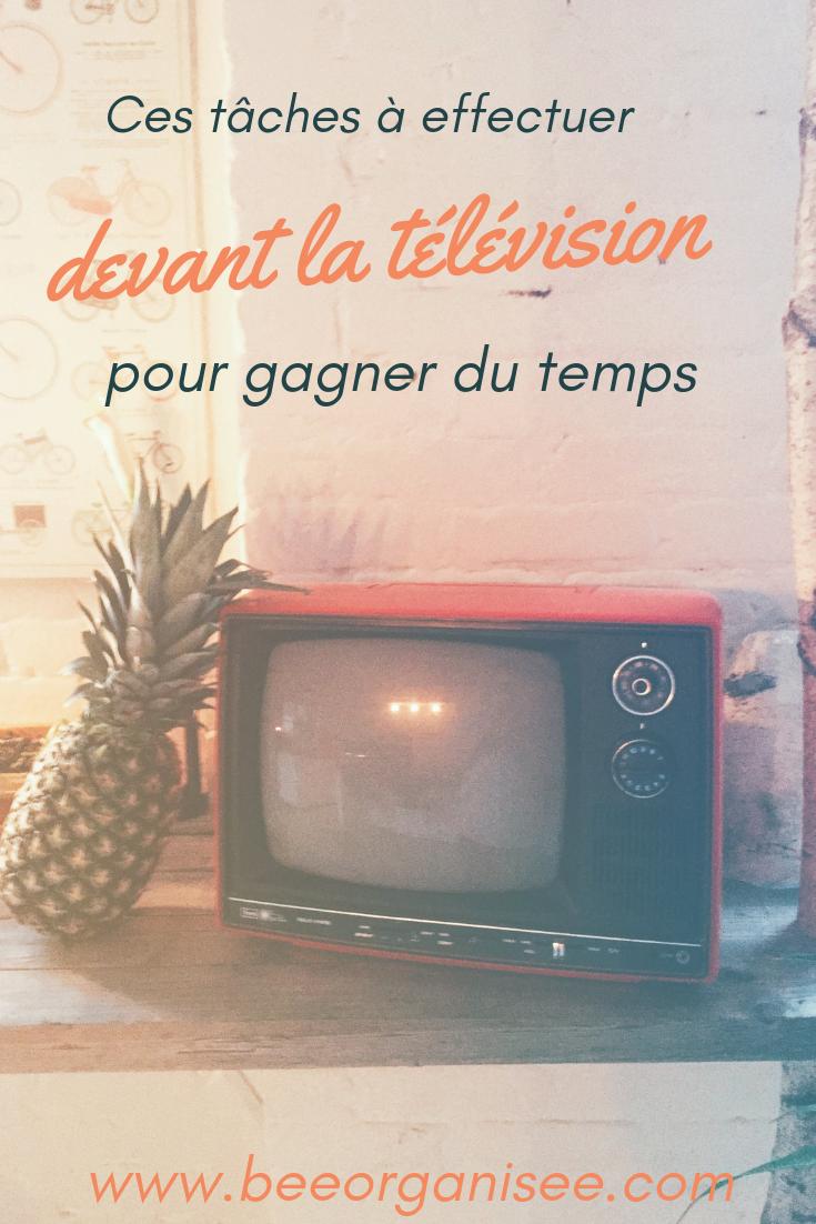Votre pause TV du soir est idéale pour accomplir beaucoup de tâches et gagner en productivité. En voici quelques idées.