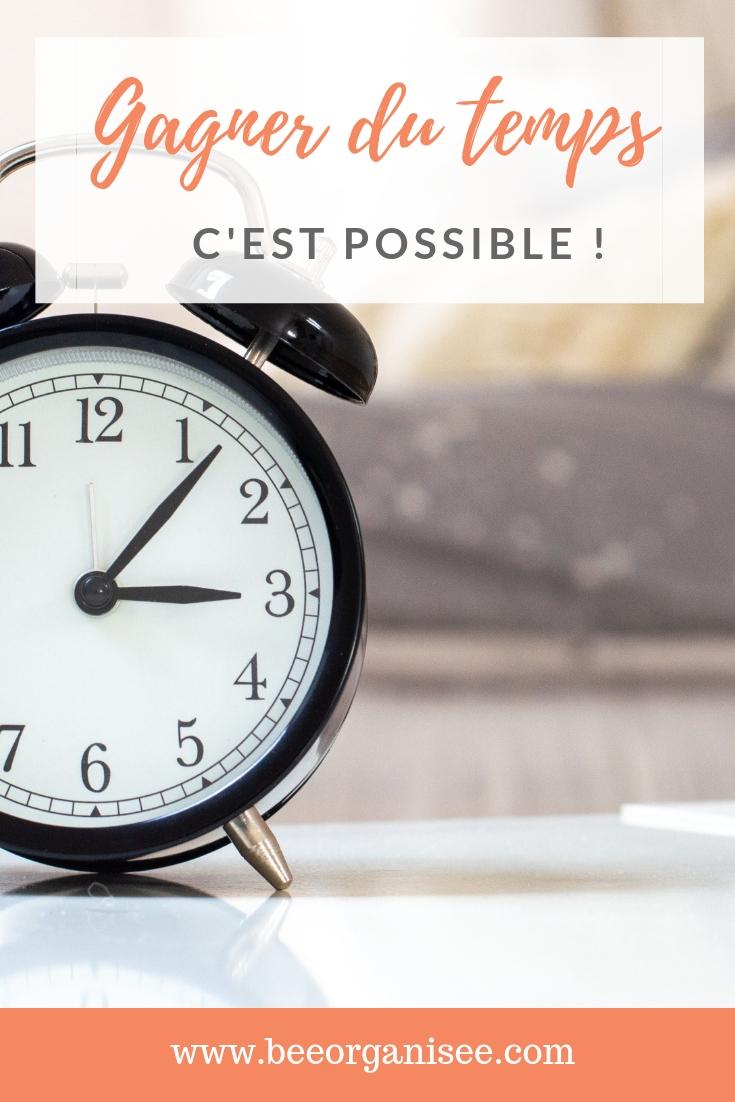 Découvrez quelques astuces qui vous permettrons de gagner du temps au quotidien.