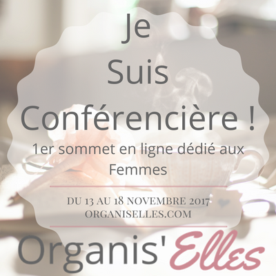 Sabine du blog Bee Organisée sera conférencière du sommet Organis'Elles