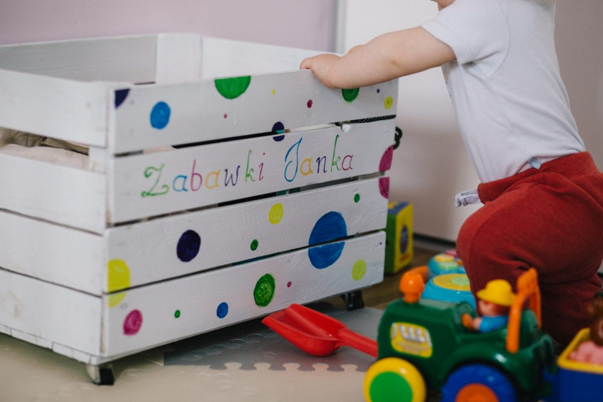 Gérer et ranger les jouets