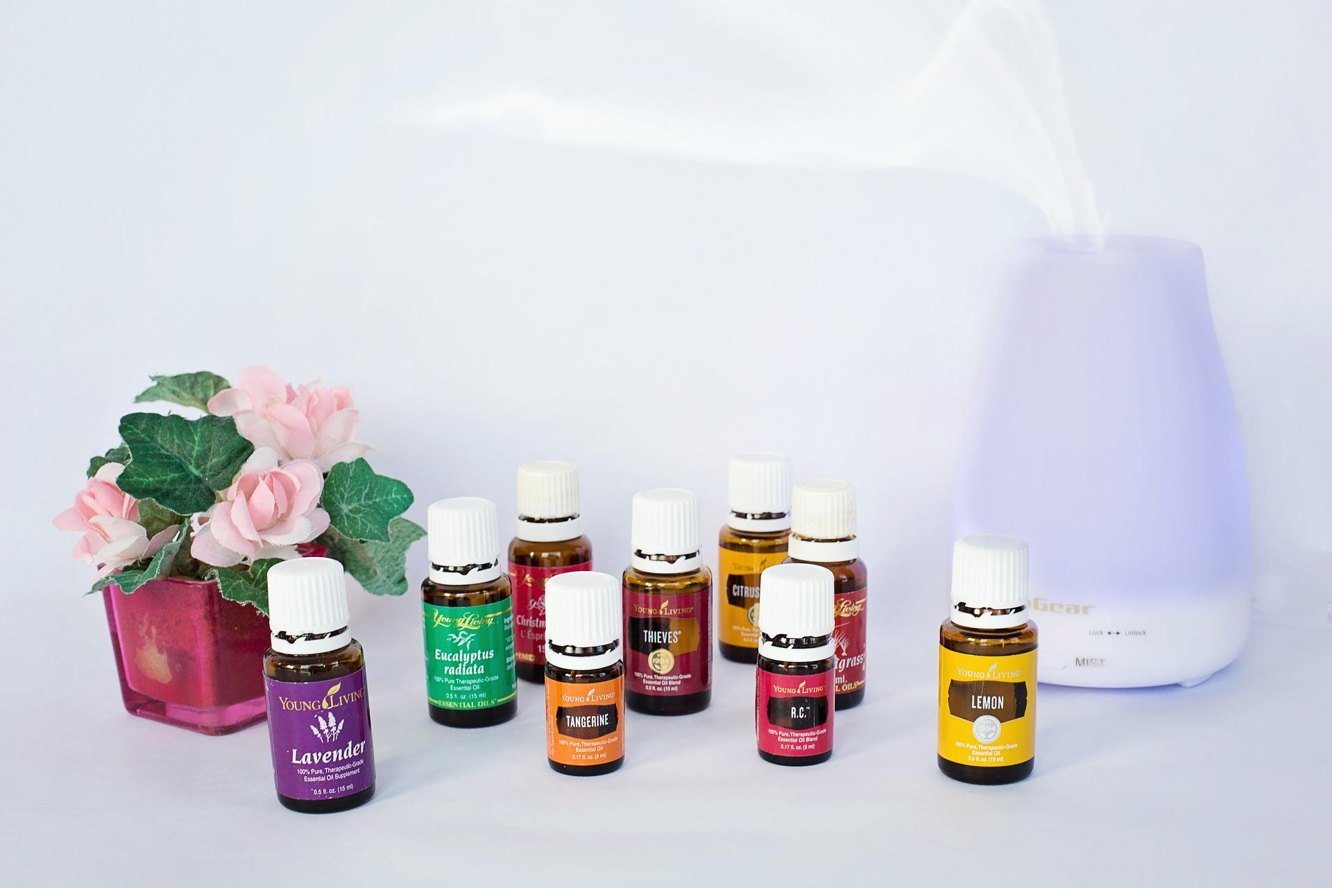 diffuser des huiles essentielles pour assainir l'air va charmer vos invités