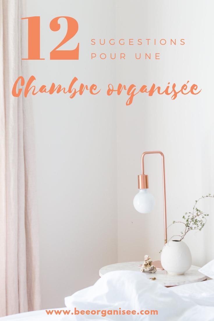 Voici quelques conseils pour créer une chambre organisée et sereine