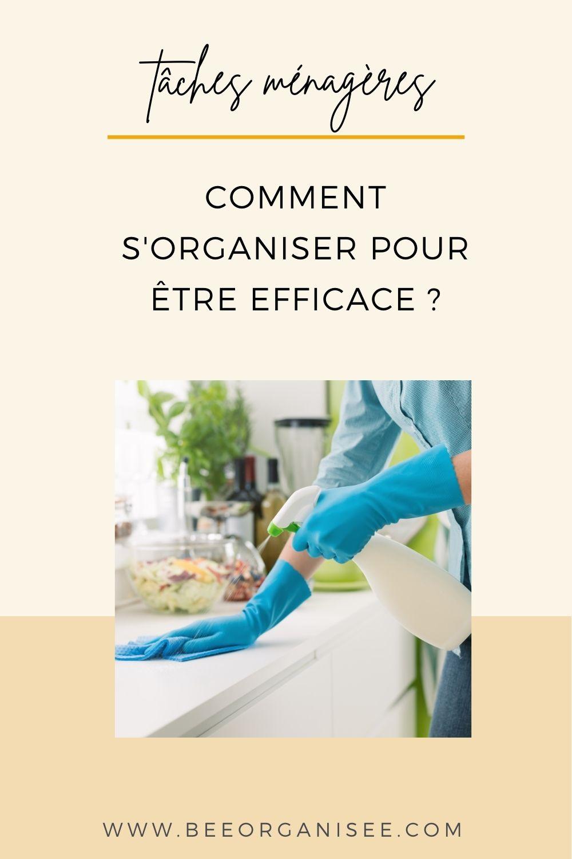 Les tâches ménagères ou cette impression que cela ne s'arrête jamais! C'est là qu'un planning des tâches ménagères peut être bien utile.