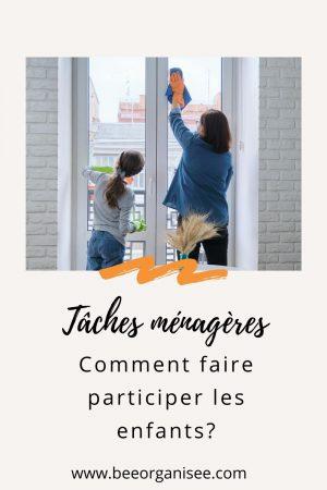 Faire participer les enfants aux tâches ménagères est une des préoccupations de nombreux parents. Nous voulons les impliquer non seulement pour nous soulager mais aussi pour les responsabiliser. Alors comment faire pour les impliquer sans que cela ne finisse en énième confrontation? C'est de cela que je vous propose de discuter dans cet article.
